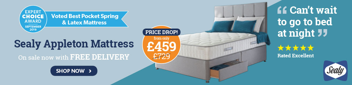 huge discount 479b9 b75a6 Sealy Beds, Sealy Mattresses - Sealy Posturepedic