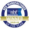NBF Manufacturer Winner Logo 2018